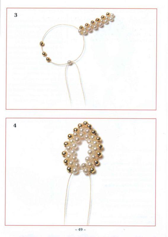 бисер схемы колье браслеты с цветами - Лучшие схемы и описания для всех.
